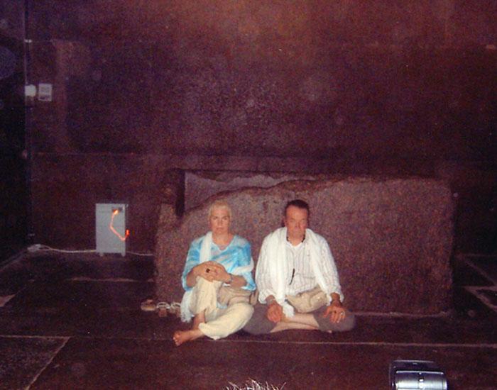 Egitto 2004 dentro la grande Piramide