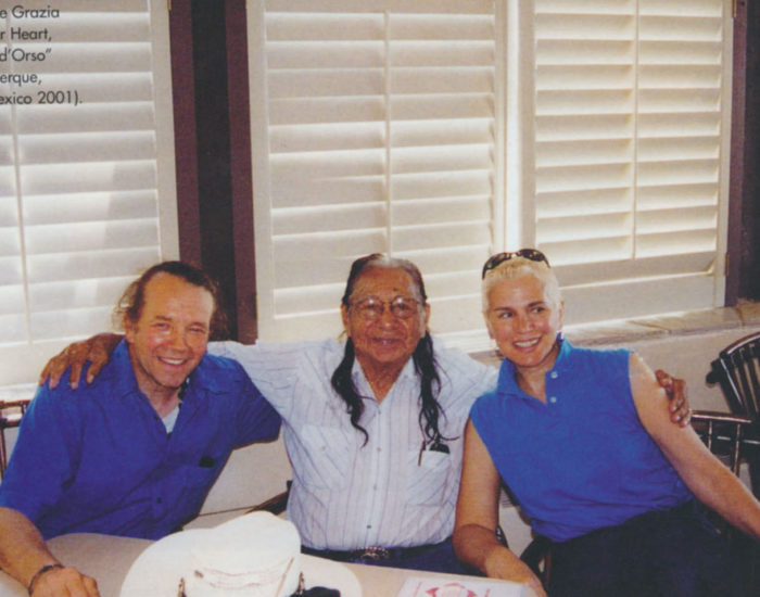 New Mexico 2001 con Cuore d'Orso