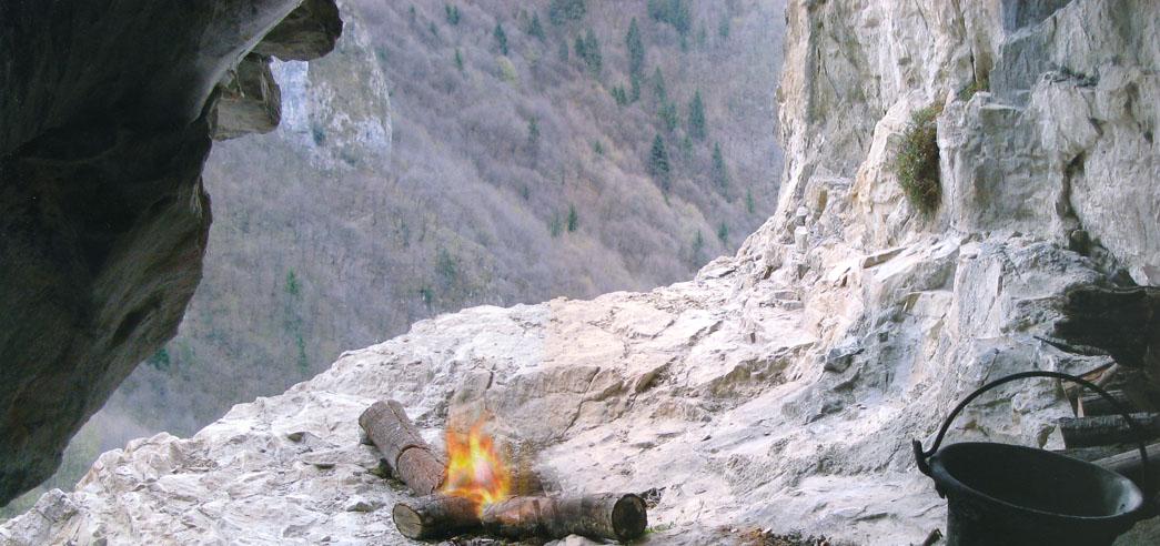 la grotta del Mistico